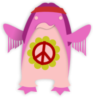 korora,penguin,little,fairy,animal,hippie,peace