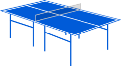 table,table tennis,sport,blue,sport,sports2010