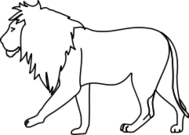 lion,line art,outline,black and white,coloring,coloring book,africa