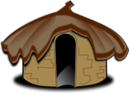 house,cartoon,home,hut