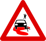 roadsign,sign,safety,death,child,car,child