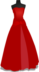 mariage,robe,robe formelle,rouge,robe formelle