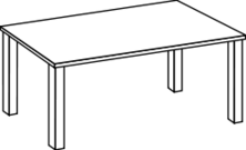 table,line art,outline,coloring book,black and white