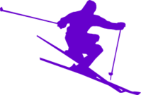 ski,skiing,ice,sport,speed,olympics,colour,silhouette,sport,sports2010,olympics,colour