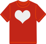 t-shirt,love,clothes,clothing,heart,red