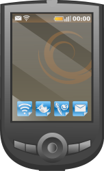 graphite,pda,smart phone,mobile,cell,touch screen,apps