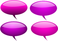 speech bubble,bubble,maroon,pink,red,glossy,gloss,icon,speech