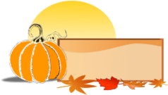 fall,pumpkin,leaf,icon,3d,banner,border,frame