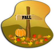 fall,autumn,sign,leaf,pumpkin,landscape,shade