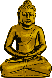 buddha,golden,statue,sitting,meditation,silent,self-reflection,peaceful,calm,buddhism,religion,eastern,buddha