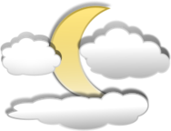 cloud,moon,shaded,3d,icon,clouds,moon,3d,clip art,inky2010