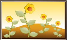 fall,field,flower,scene,landscape,icon,3d,mountain,summer,art,framed,sunset,summer2010,leaf,green,yellow,fall2010,flower,inky2010,clip art,3d,3d,leaf