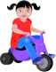 toddler,baby,trike,tricycle,girl,bike,kiddie,child,infant