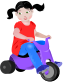 people,toddler,girl,girlie,girly,trike,bike,peddle,peddling,baby,junior,infant,child,tike,sitting,tricycle,bicycle