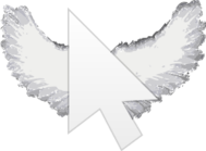 wing,cursor,arrow,mouse,pointer,flying,sky,goodbye,wing