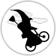 witch,bicycle,moon,silhouette,halloween2010