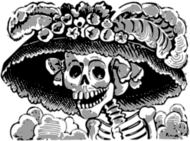 catrina,josé guadalupe posada,mexico,muertos,death,day,dia,deaths day,dia muertos,altar,tradition,mexican,halloween,josé guadalupe posada,death