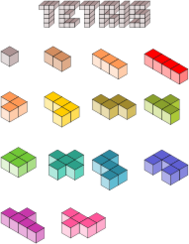axonometric,tetri,game,block,color,fun,pixel,art,tetri,block