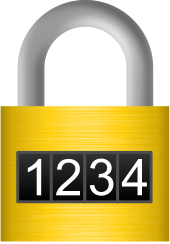 combination,1234,number,lock,icon,brushed metal,security,protection,digital,media,clip art,png,svg