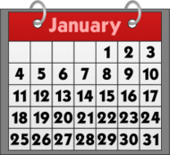 calendar,red,1,31,january,binder,ring,date,month,ring,clip art
