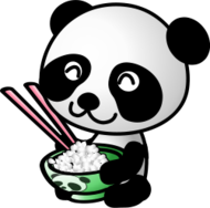 animal,panda,cartoon,diet