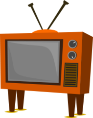 tv,retro,60's,funky,furniture,old,television