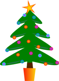 Christmas Tree Outline Clip Art Download 1000 Arts Page 1