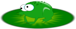 frog,animal,amphibian,cartoon,lillypad