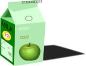 apple milk,apple,milk,box,inks046,svg,inkscape