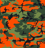 camouflage,pattern,army,tile,tileable,camo,hunter,orange