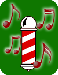 barbershop,barber,music,note,quartet,note