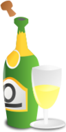 worldlabel,anniversary,champagne,bottle,cup,party,event,holiday,occasion,icon,color