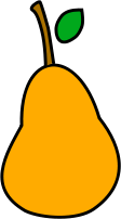 pear,fruit,food