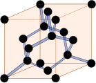 diamond,structure,carbon,diamant,carbone,cube,cubic,cristal