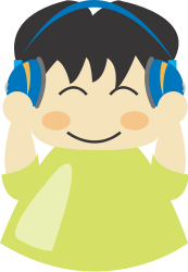 boy,headphone,music,character,cute,listen