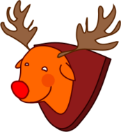 rudolph,red-nosed,reindeer,cartoon,christmas folklore