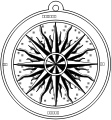 compass rose,mapping,cartography,rpg,compass rose