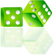 dice,gamble,play,game,random number,math,luck,try,table top game,board game,ludo,snake and ladder,cube,dice vector image,icon,photo realistic