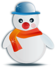 snowman,christmas,snow,ice,winter,vacation,holiday,celebration,toy,glossy,fancy,folklore,media,clip art,public domain,image,png,svg,holidays2010