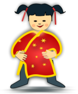 chinesenewyear2011,china,chinese,kid,girl,baby icon,icon,oriental,traditional chinese,shangai,beijing,honkong,kid