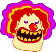 clown,payaso,cartoon,caricatura
