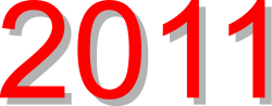 2011,new year,png,svg,clip art,shadow,red