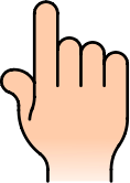 hand,icon,point,graphical,colored,hand,icon,graphical