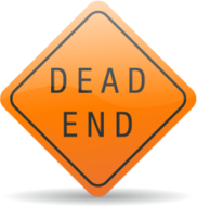 deadend,dead-end,dead end,sign,road,street,yellow,icon,sign,road,street,media,clip art,png,svg,public domain,how i did it
