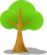 cartoon,tree,nature,vegetable