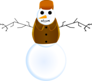 snowman,snow,winter,christmas,inkscape