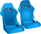 racing seats illustration,motorsports