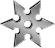 shuriken,weapon,ninja,japan,star