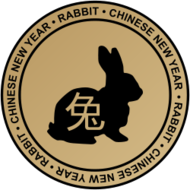 rabbit,circle,chinese,new year,chinese new year,emblem,badge,beige,gradient,chinesenewyear2011