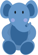 baby elephant,elephant,blue,baby blue,animal,vector art,svg,clip art,image